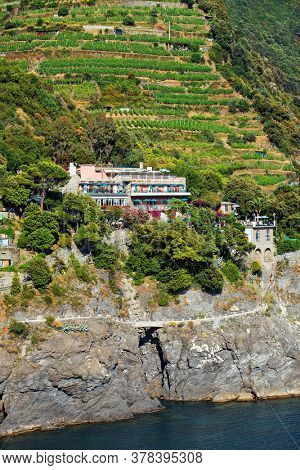 Monterosso al Mare is the westernmost of the Cinque Terre, a national park protected by Unesco