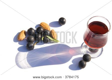 Sloe Gin Sloes & Almonds