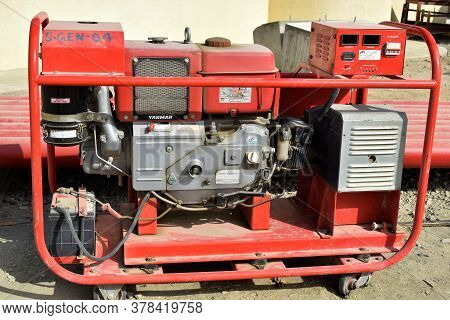 Diesel Generator For Small Temporary Houses. Muscat, Oman : 27-07-2020