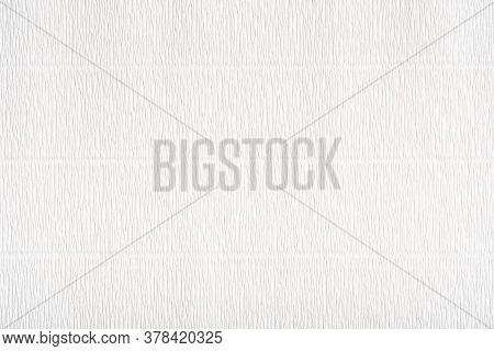 Corrugated Paper Texture. White Art Paper Texture. Light Grey Paper Texture With Corrugated Surface.