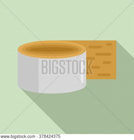 Construction Scotch Icon. Flat Illustration Of Construction Scotch Vector Icon For Web Design