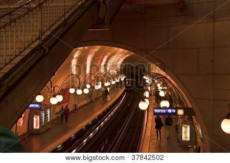 Metro of Paris