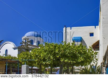 Traditional Greek Ambient With Blue Sky - Greece