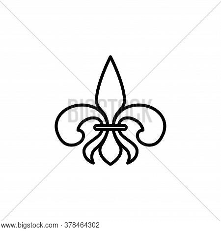 Illustration Vector Graphic Of Fleur De Lis Icon