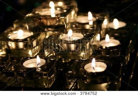Tee-Kerzen