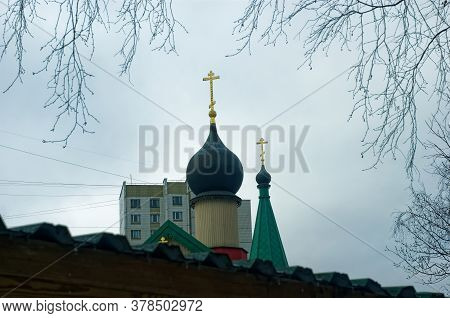 Little Church In Winter Near The Forest, Moscow