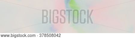 Watercolour Blotch. Cloudy Gentle Paint. Blured Cloudy Style. Rainbow Pastels Banner. Rainbow Multic