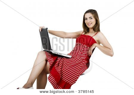 Laptop Woman