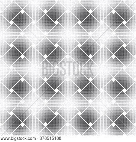 Seamless Pattern. Abstract Small Textured Background. Modern Stylish Texture With Small Dots. Regula