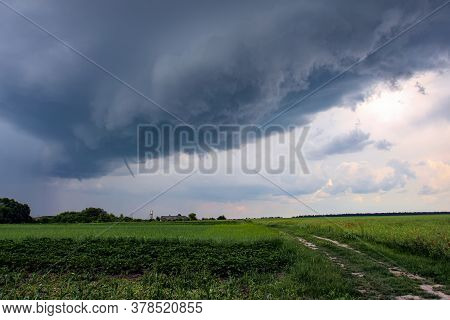 A Tornado Or Twister Is An Atmospheric Whirlwind That Occurs In A Cumulonimbus Thundercloud And Spre