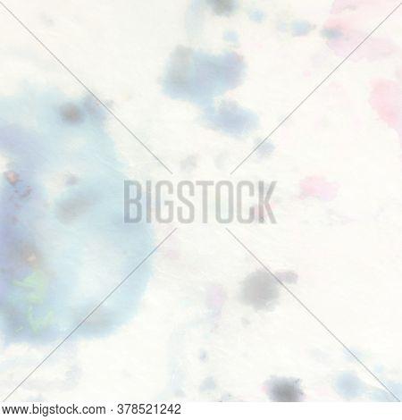 Pastel Multicolor Pattern. Tie Dye Pastel Texture. Tender Multicolor Splash. Gentle Rainbow Splash.