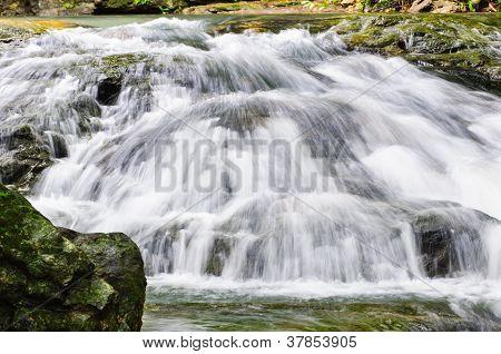 Waterfall At Sarika