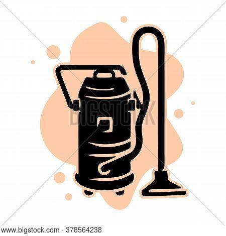Service Vacuum Cleaner Icon. Simple Illustration Of Service Vacuum Cleaner Vector Icon For Web Desig