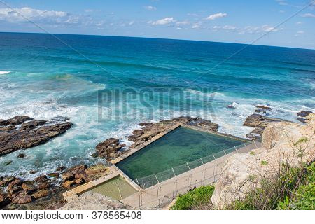 Panoramic Top View Beach From Northern Beaches, Nsw, Australia, Sydney 2018