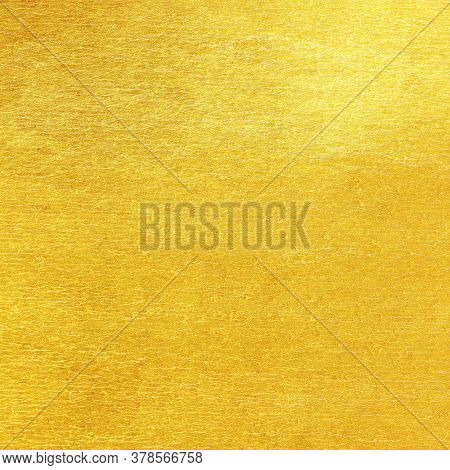 Gold Or Yellow Foil Wall Texture Backdrop Design
