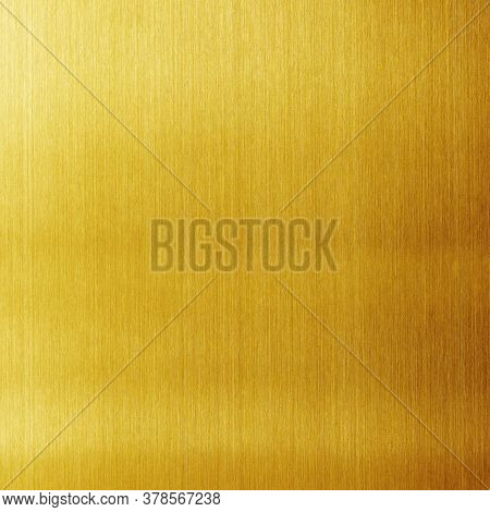 Gold Background Or Texture And Gradients Shadow.