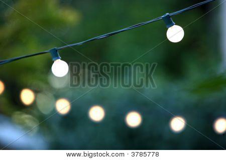 Colgantes decorativos Navidad luces