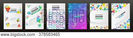 Abstract Vector Triangle Design For Flyer. Business Card, Poster, Banner, Cover. Brochure Template.s