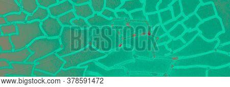 Realistic Leopard Print. Galaxy Blue Leopard Fur Painting. Realistic Leopard Print Background. Simpl