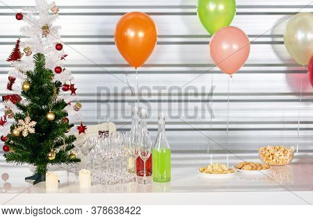 Food And Drink On The New Year