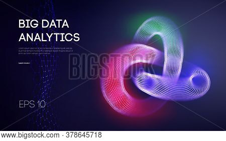 Big Data Network Information Background. Internet Analytics And Computer Technology. Business Analys