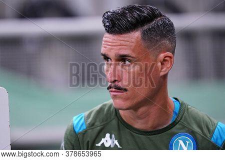Milano (italy) 28th July 2020. Italian Serie A. Fc Internazionale Vs Ssc Napoli. Jose Maria Callejon