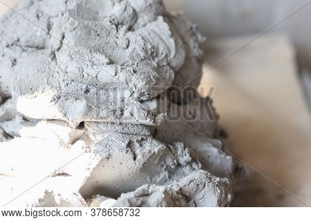 White Clay Moulding And Pottery, Close Up, Preparing