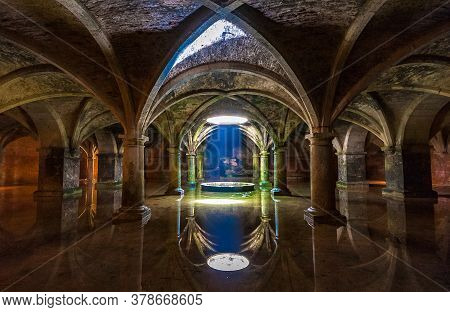 Portuguese Cistern In El Jadida, Morocco, Africa