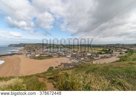 Landscape Photo Of West Bay In Dorset