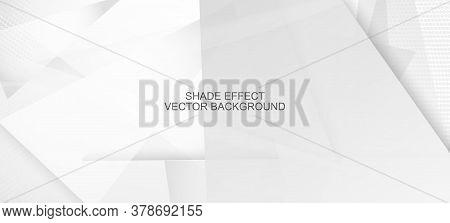Halftone Minimal Gray Vector Background. Grain Pattern. Halftone Wallpaper. Geometric Dots Texture.