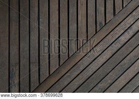 Gray Wooden Plank Background, Wooden Plank Floor