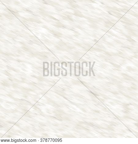 Seamless White Grey Variegated Brush Stroke Texture Background. Bleed Streaked Blotched Minimal Mark