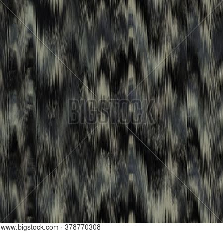 Seamless Distressed Glitch Blur Abstract Artistic Texture Background. Melting Irregular Imperfect Wa