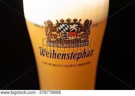 A Glass Of Weihenstephan