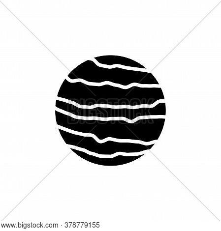 Venus Planet Icon Vector. Venus Planet Simple Sign, Logo
