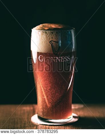 A Guinness Glass