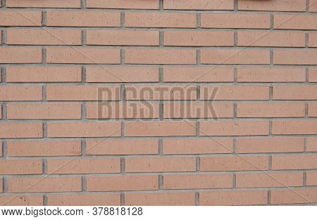 A Brick Wall Texture With Very Striking Colors