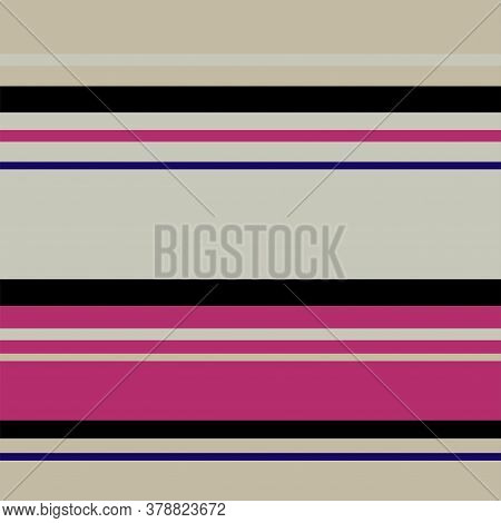 Sailor Stripes Seamless Pattern. Autumn Winter Modern Fashion Fabric. Male, Female, Childrens Summer