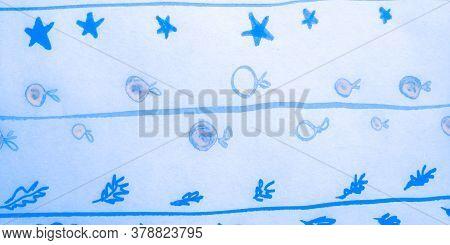 Distress Line Pattern. Lines Marine Retro Ornament. Background Distress Line Pattern. Modern Nature