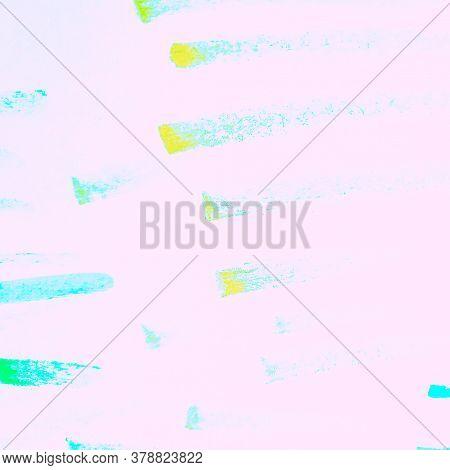 Distress Line Pattern. Strokes Lavender Dirty Painting. Background Distress Line Pattern. Ripple Fun