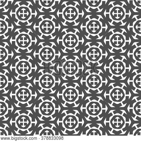 Repetitive Line Vector 20s Repetition Texture. Repeat Simple Graphic Great Textile Pattern. Continuo
