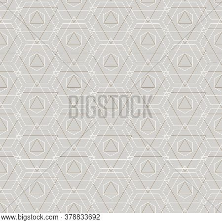 Continuous Modern Vector Web, Repeat Texture. Repeat Linear Graphic Technology Deco Pattern. Repetit