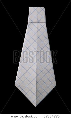 Tie Folded Origami Style