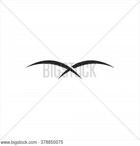 Falcon Logo Template Vector Illustration Design, Isolated On A White Background