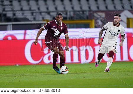 Torino (italy). 29th July 2020. Italian Serie A. Torino Fc Vs As Roma.gleison Bremer Of Torino Fc
