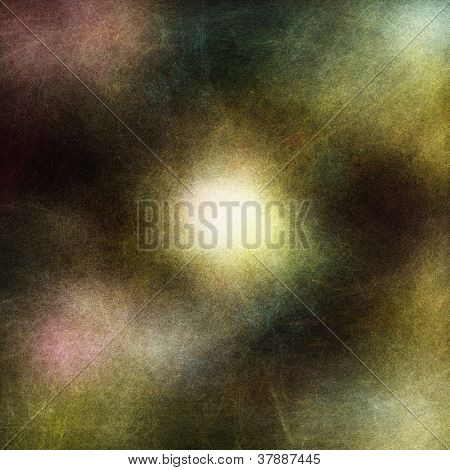 Abstract background with textures in black with white glow