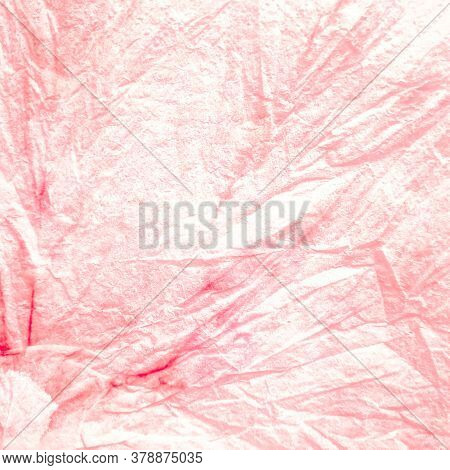 Traditional Tie Dye Pattern. Dye Modern Orange Shirt. Spiral Strip Shirt. Background Traditional Tie