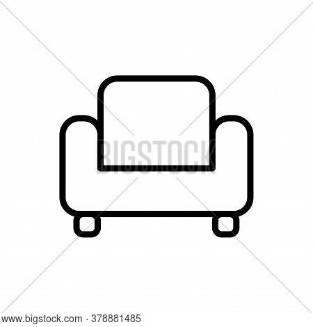 Illustration Vector Graphic Of Sofa Icon Template