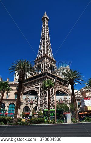 Las Vegas / United States - 06 Jul 2017: The Hotel In Las Vegas, United States