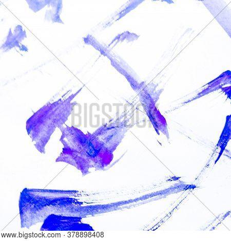 Brush Stroke Template. Water Stroke Splash Banner. Calligraphy Graffiti Brushstroke Sketch. Backgrou